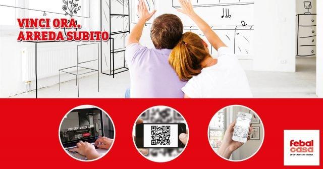 """""""Vinci Ora. Arreda subito"""": il nuovo contest di Febal Casa che mette in palio 5mila euro per rifare look alla propria casa."""