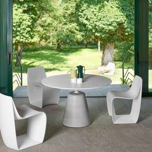 Tavolo Rock table e sedie indoor/outdoor Sign matt