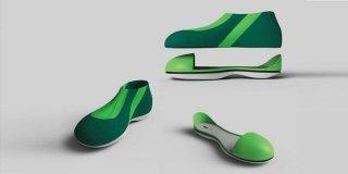 Targa Rodolfo Bonetto 2017: tra i progetti degli studenti di design, hanno vinto le scarpe medicali colorate e glamour…