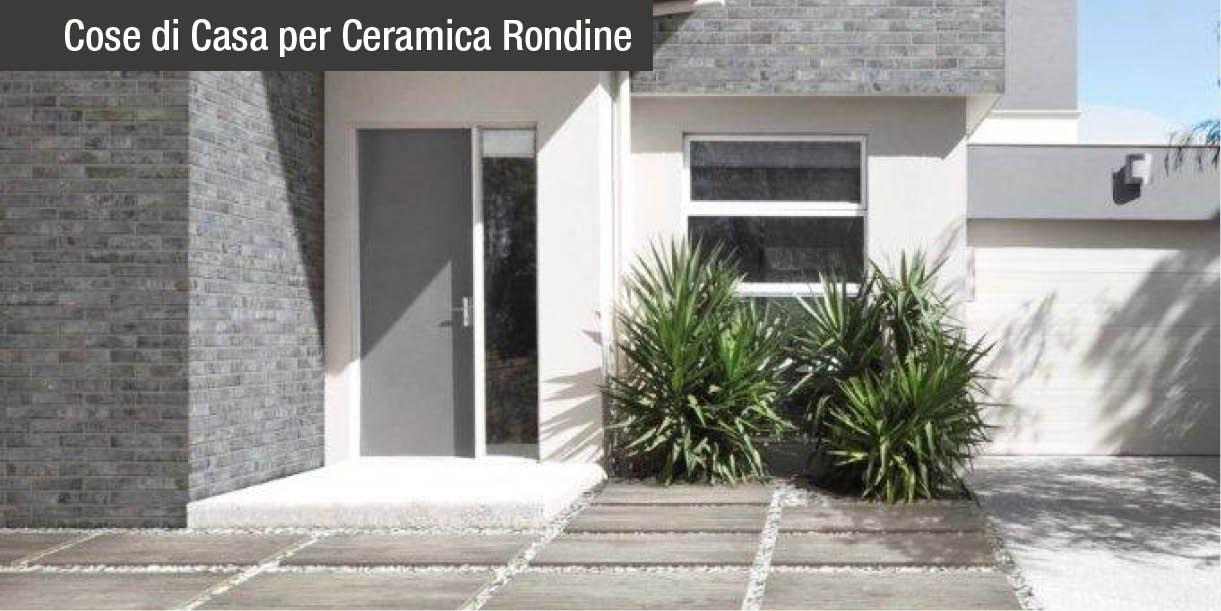 Brick generation e design 3d le pareti diventano scultoree con ceramica rondine cose di casa - Piastrelle per facciate esterne ...
