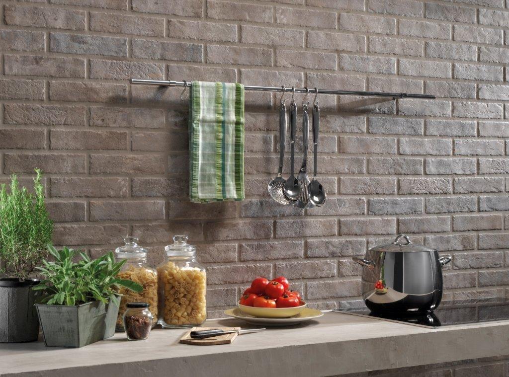 Brick generation e design 3d le pareti diventano for Ceramica rondine