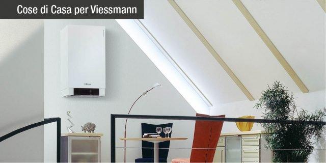 Caldaia a condensazione Vitodens 200-W. Con Viessmann, il benessere in casa tua