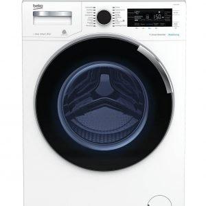 In classedi efficienza energeticaA+++ (-20%), la lavatrice a carica frontale WTZ121435BI di Beko lava fino a 12 kg di biancheria e è dotata di motore senza spazzole Pro Smart Inverter e Autodosaggio, che oltre a limitare la rumorosità permette il massimo risparmio di acqua e detergente. Misura L 60xP62,5xH85 cm. Prezzo 849 euro. www.beko.it