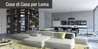 Progetto d'interior design: una casa con zona giorno open space