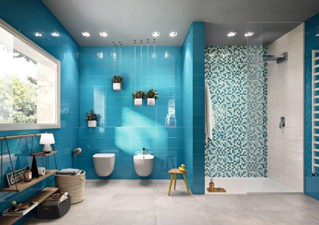 Piastrelle nuova vita ai rivestimenti con i prodotti iperceramica cose di casa - Produttori ceramiche bagno ...
