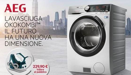 In regalo ferro da stiro, acquistando una lavasciuga dalle prestazioni supervantaggiose