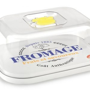 Il box per conservare la freschezza dei formaggi in frigorifero è ideale anche per servire direttamente gli alimenti in tavola. Prezzo 7,90 euro. www.snips.it