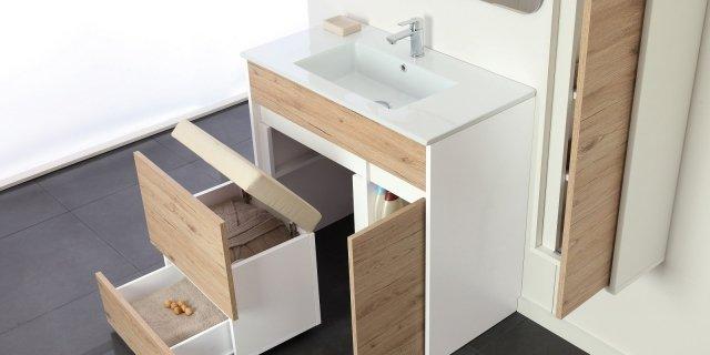 Soluzioni salvaspazio per il bagno