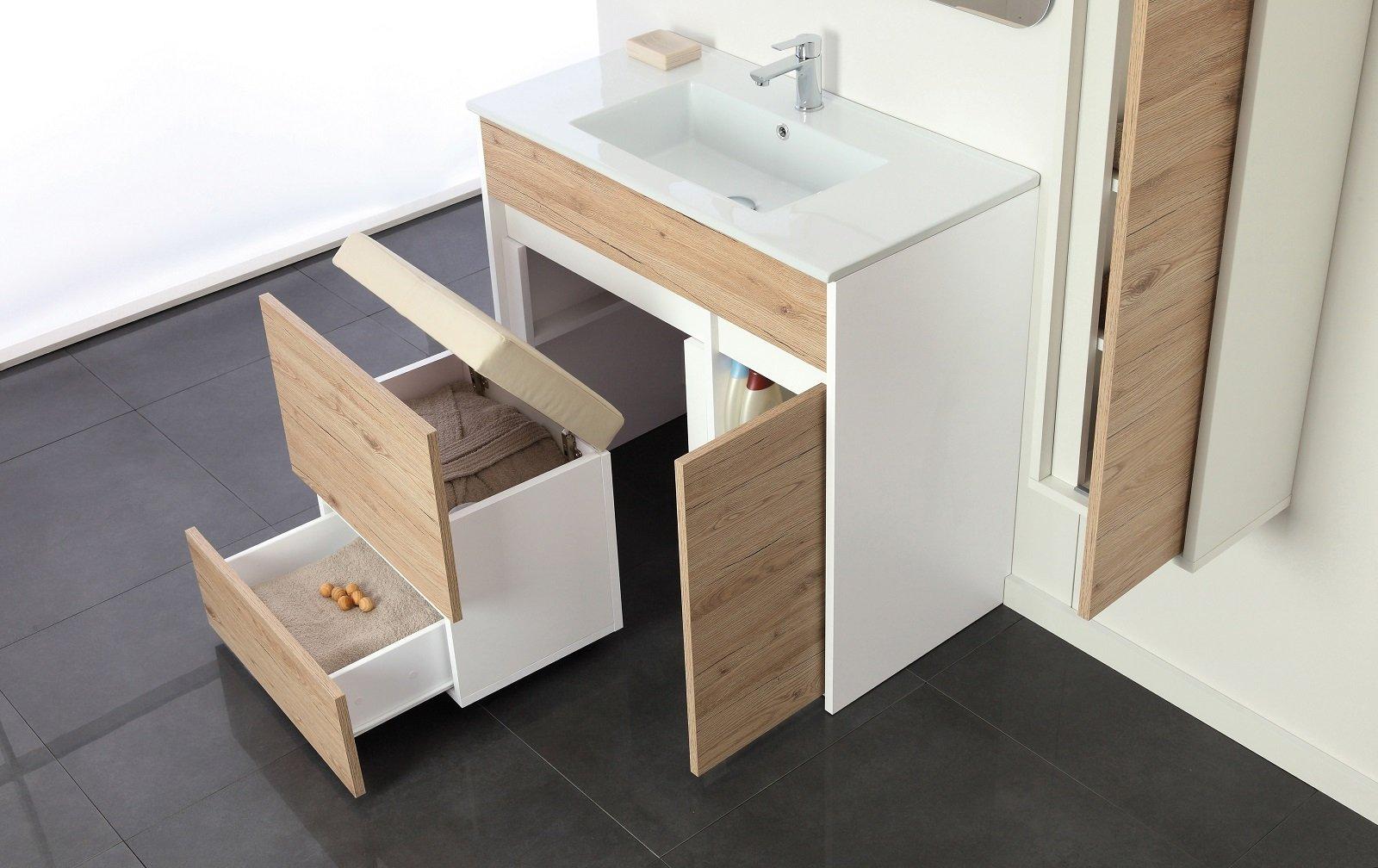 Soluzioni salvaspazio per il bagno per risparmiare centimetri