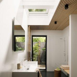 Finestre con ridotti profili per tanta luminosit nell for Finestre x tetti