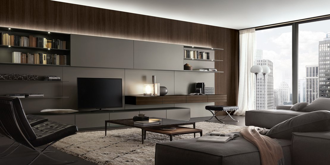 arredare la casa dal soggiorno alla camera con mobili e. Black Bedroom Furniture Sets. Home Design Ideas