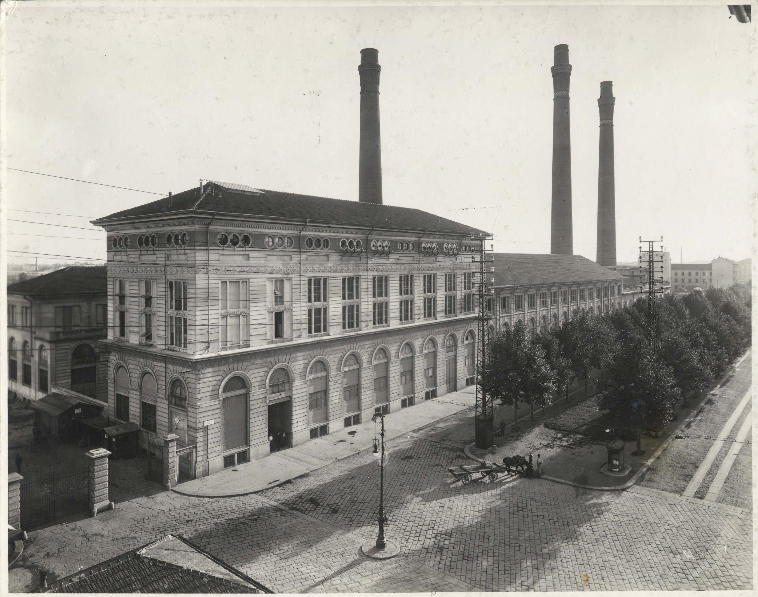 Centrale termoelettrica di piazza trento antonio paoletti anni venti archivio storico - Mobili anni venti ...