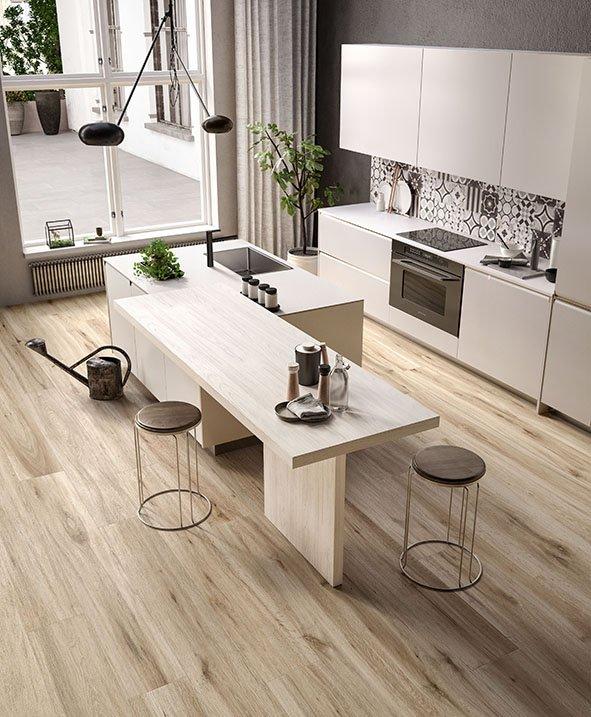 Piastrelle cucina, a pavimento o parete, anche multicolor ...