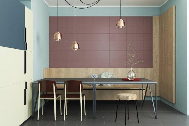 Piastrelle cucina a pavimento o parete anche multicolor - Piastrelle rettificate ...
