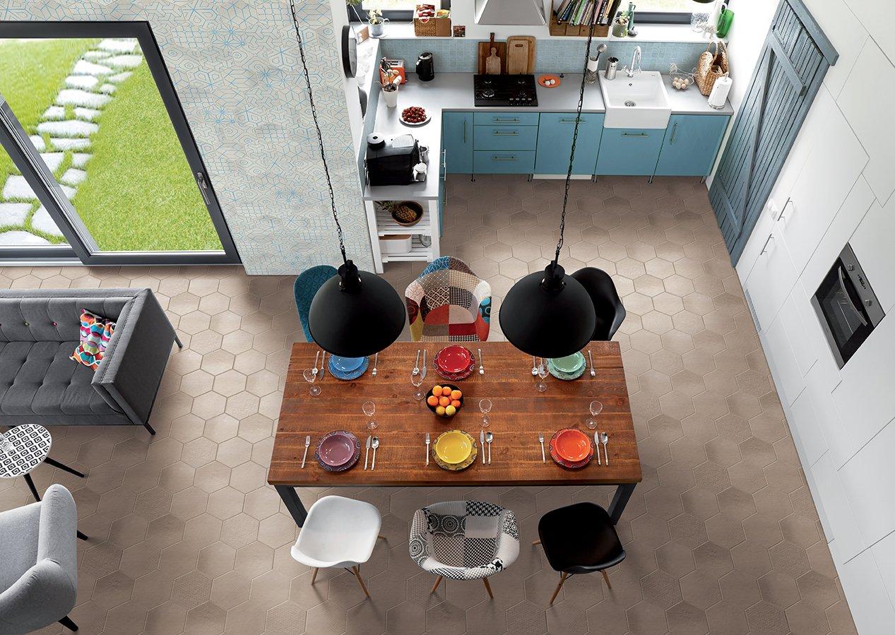 Piastrelle cucina a pavimento o parete anche multicolor cose