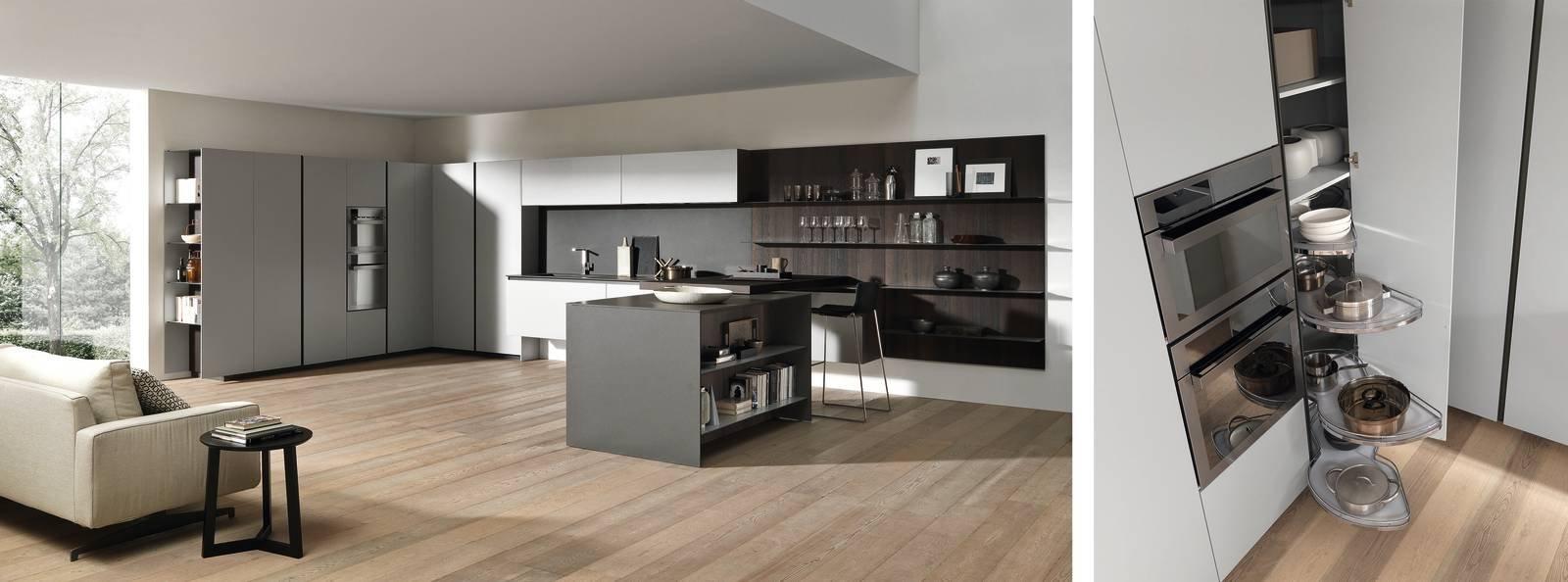 Dentro i mobili della cucina spazio in pi facile da - Mobili della cucina ...
