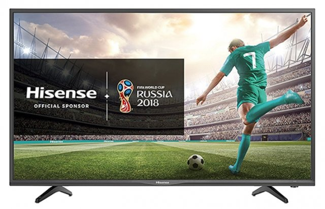 TV LED HD da 43'' modello H43N2105S di Hisense. Caratterizzata da un design pulito ed elegante, 3HDMI, Hotel Mode e USB media player, DVB-T2/S2 (HEVC). Prezzo 399 euro. In offerta per il Black Friday su www.amazon.it