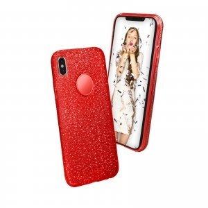 Una simpatica cover per iPhone X in colore rosso limited edition, in perfetto stile natalizio. Resistente,elegante, colorata e con un tocco chic, questa cover aderisce perfettamente all'iPhone X,proteggendolo da piccoli urti e graffi. La cover Sparky di SBS mobile è disponibile anche per iPhone 7 e 8, Samsung Galaxy S8, Samsung Galaxy S8+, Huawei P10 Lite. Materiale: TPU resistente. Libero accesso a tutti i tasti. Foro per la fotocamera. Prezzo: 19,99 euro. www.sbsmobile.it