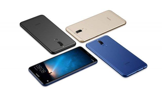 Huawei Mate 10 lite Lo smartphone HUAWEI Mate 10 lite include caratteristiche uniche, come il FullView Display 18:9 e le quattro fotocamere di cui è dotato: nella parte posteriore ne troviamo due da 16MP e 2MP, mentre frontalmente offre una camera da 13MP e una da 2MP con flash armonizzante, per selfie di ottima qualità, anche in condizioni di scarsa illuminazione. Il processore octa-core Kirin 659, insieme ai 4GB di RAM e 64 ROM, consentono di gestire più applicazioni contemporaneamente, in maniera fluida e senza interruzioni. Lanuova EMUI 5.1di Huawei, conalgoritmo machine learning, è alimentata da Android 7.0, per ottimizzare le performance dello smartphone in base all'utilizzo dell'utente. La perfetta integrazione tra hardware e software consente allabatteria da 3.340 mAhdi durare più a lungo, con un'autonomia di conversazione fino a 20 ore. Prezzo: 349 euro con 4GB di RAM e una memoria di 64GB, nelle colorazioni Prestige Gold, Graphite Black e Aurora Blue. www.consumer.huawei.com