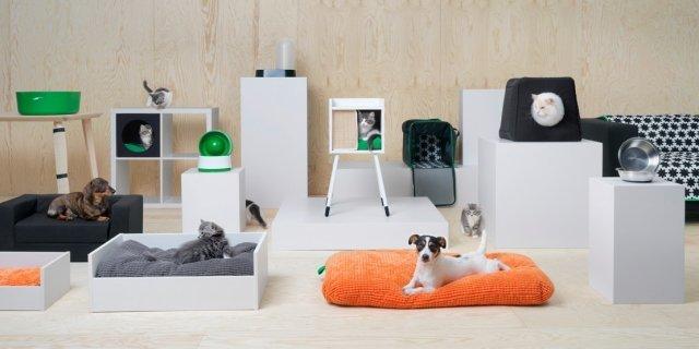 Una collezione Ikea per animali: Lurvig, per i cani e i gatti di casa