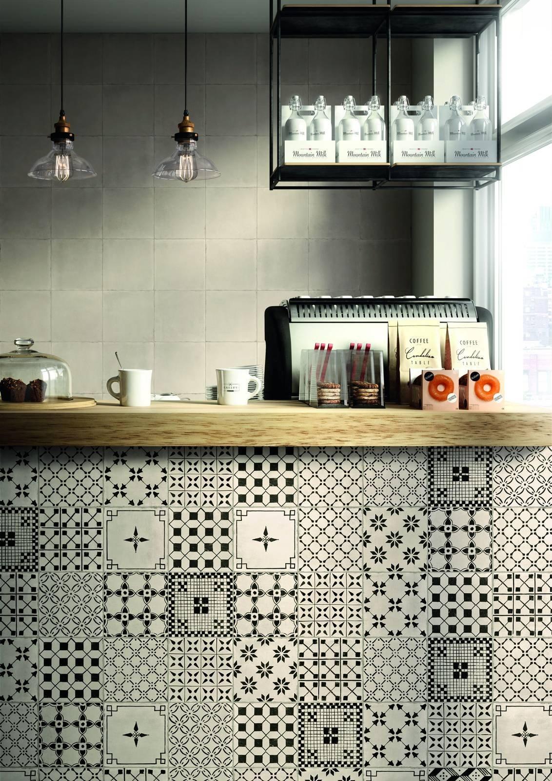 Piastrelle cucina a pavimento o parete anche multicolor for Piastrelle cucina bianche e nere