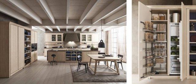 Dentro i mobili della cucina spazio in pi facile da - Cappa cucina laterale ...