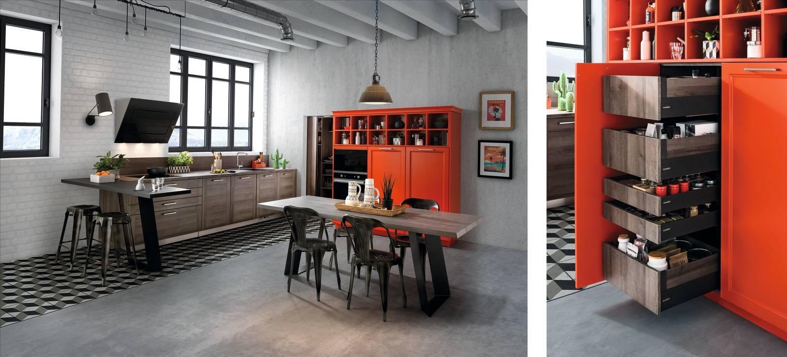 Dentro i mobili della cucina spazio in pi facile da usare cose di casa - Mobili per garage ...
