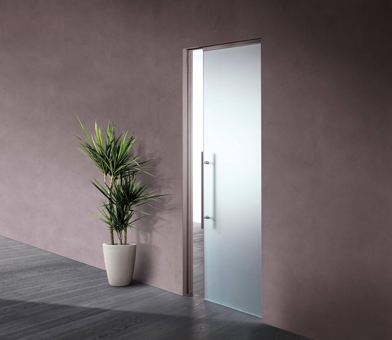 Scrigno: Essential Scorrevole, la porta filomuro come complemento d ...