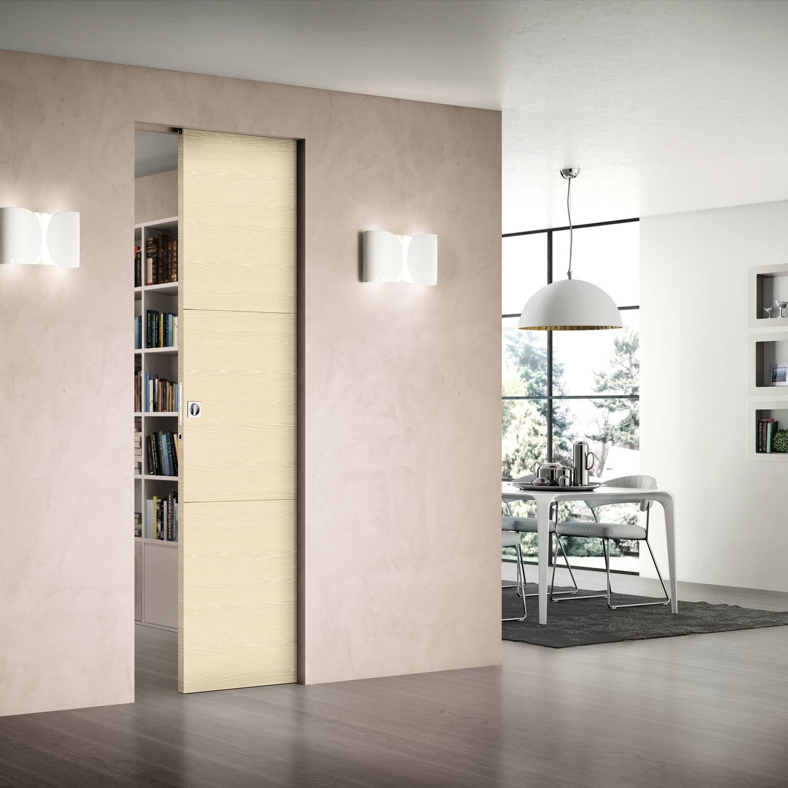 Scrigno essential scorrevole la porta filomuro come complemento d 39 arredo cose di casa - Costo porta a scrigno ...