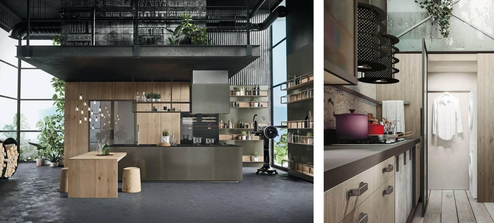 Dentro i mobili della cucina spazio in pi facile da - Furgone attrezzato con cucina ...