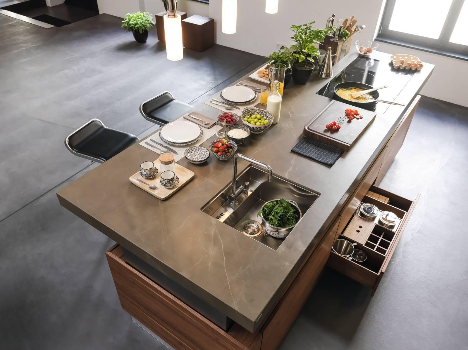 Veneta Cucine Top Quarzo.Piano Della Cucina Lo Scelgo Super Superfici D Alta