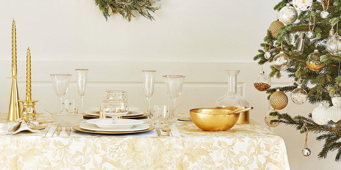Tavola di natale 10 proposte in colori e stili diversi for Stili di cucina