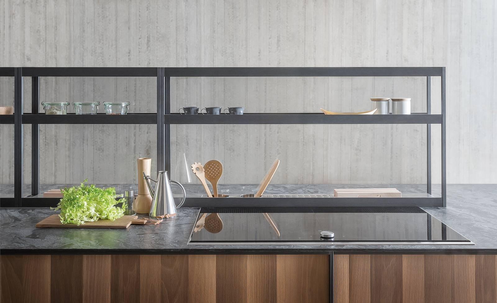 Zampieri 7 cucine con top extra cose di casa for Piani di casa che sembrano granai