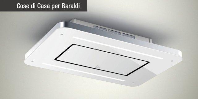 Cappa a soffitto Baraldi: aspira in alto, con la massima semplicità