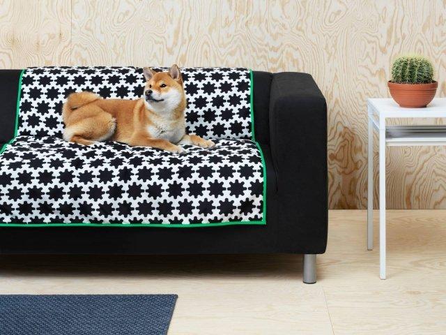 Ikea per animali, tappeto, collezione Lurvig.
