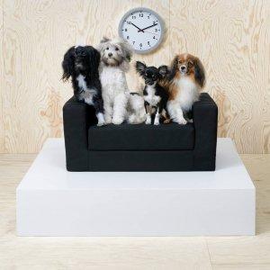 Ikea per animali, divanetto Klippan Pet Bed espandibile e sfoderabile.