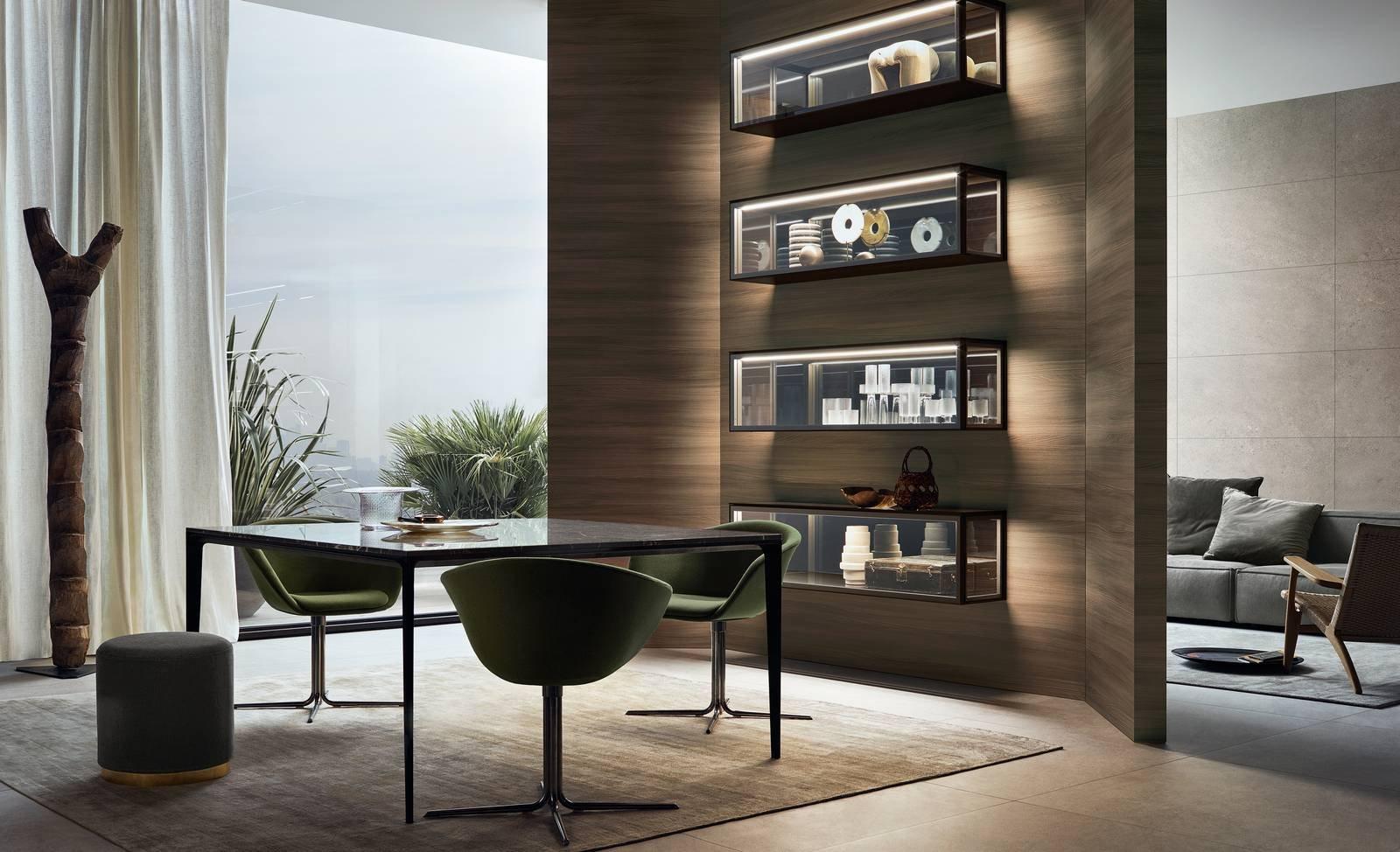Arredare la casa dal soggiorno alla camera con mobili e porte dal design unico cose di casa - Rimadesio mobili ...
