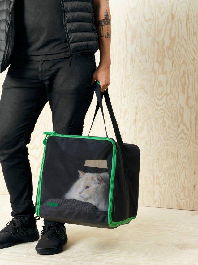 Ikea, trasportino, collezione Lurvig.
