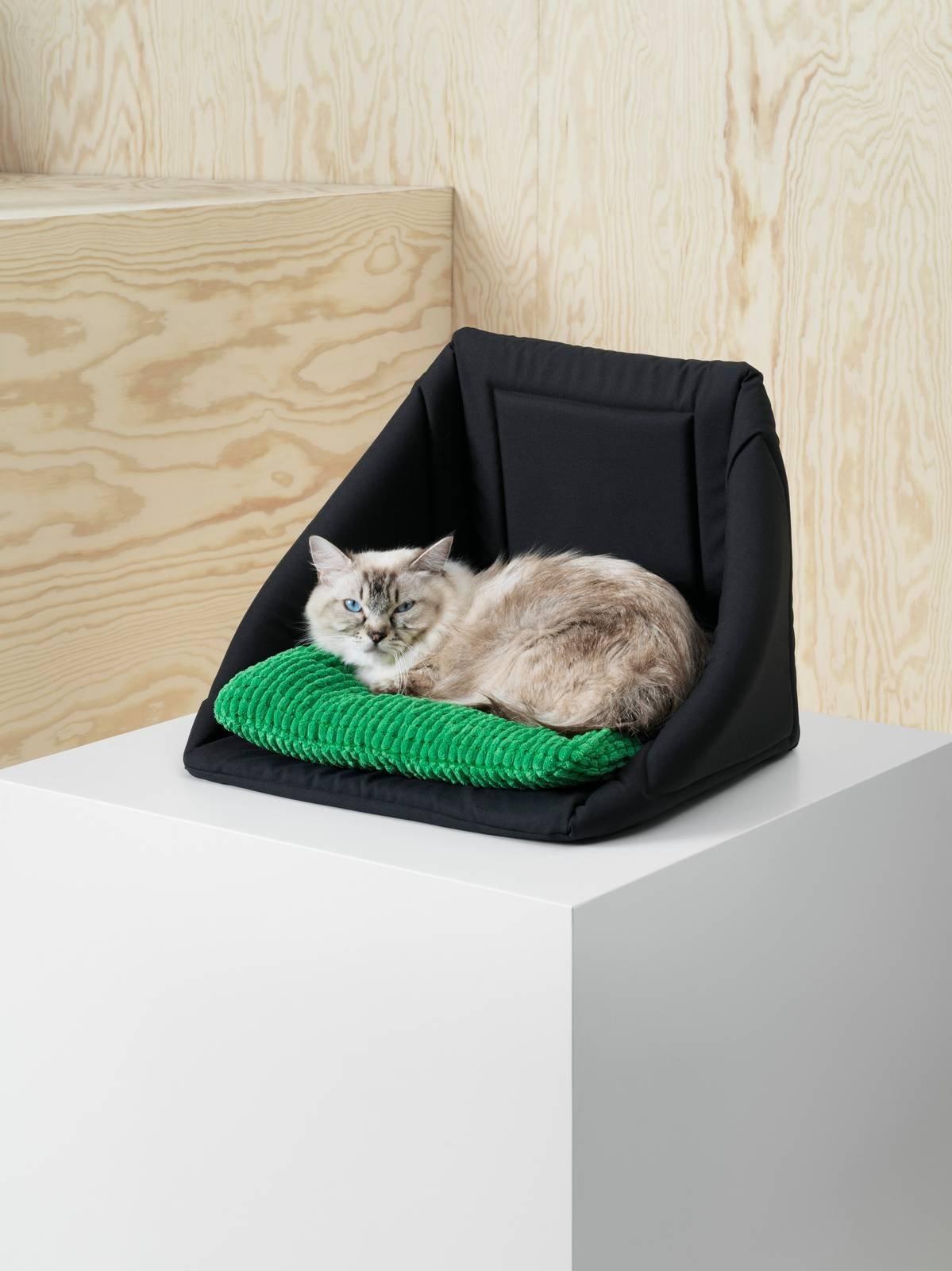 Cuccia Gatto Fai Da Te una collezione ikea per animali: lurvig, per i cani e i