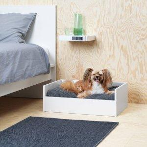 Ikea per animali, cuccia-lettino, collezione Lurvig.
