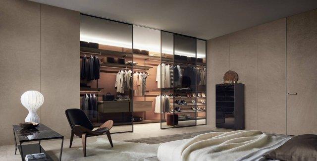 Arredare la casa dal soggiorno alla camera con mobili e - Contenitori per cabina armadio ...