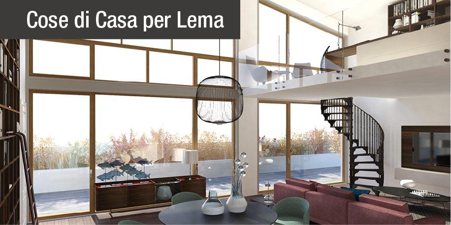 Lo studio sul soppalco per sfruttare l 39 altezza del - Altezza parapetti finestre normativa ...