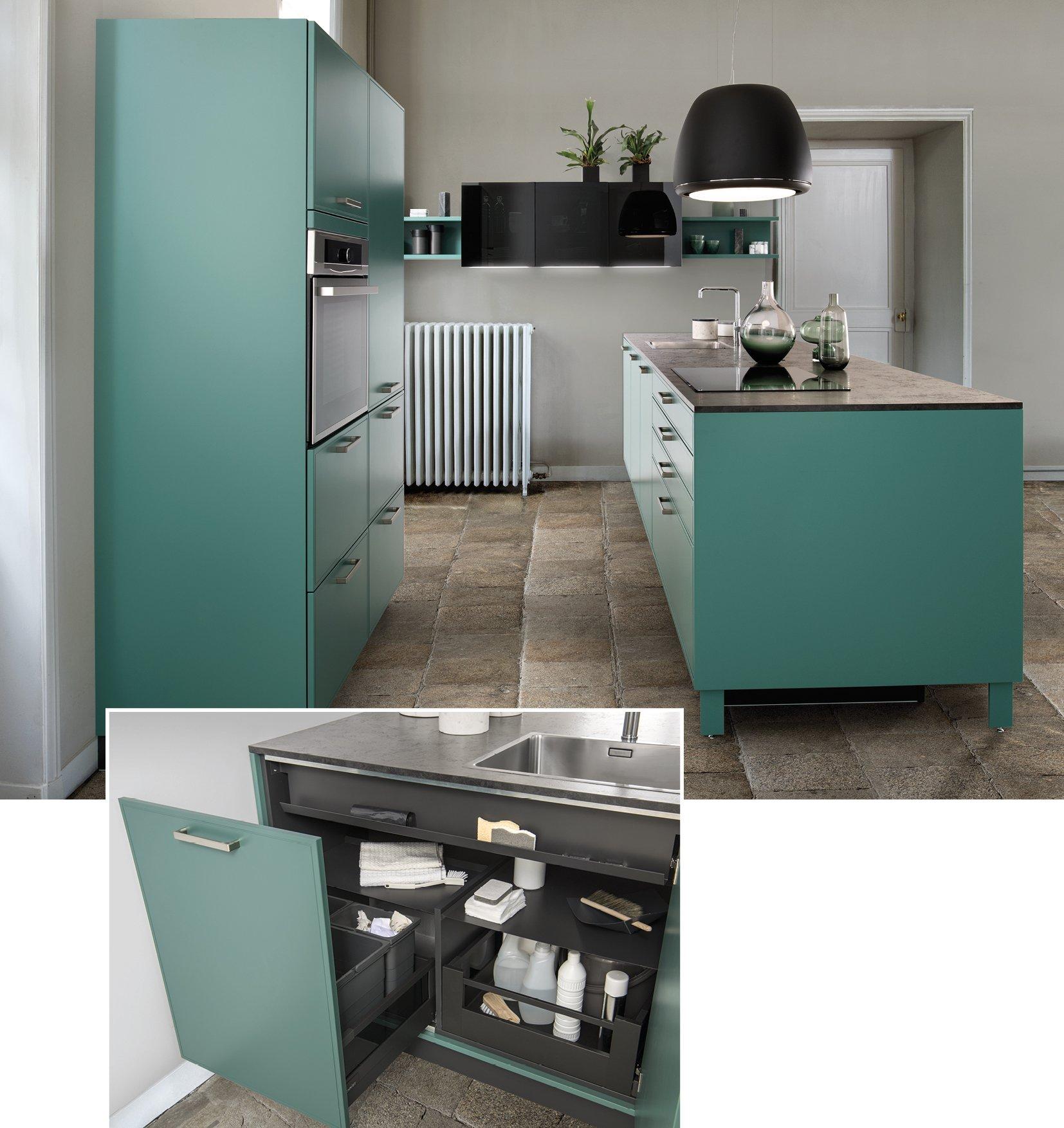 Pattumiera Design Per Cucina. Top Boxea Di Schmidt Cucine La Cucina ...