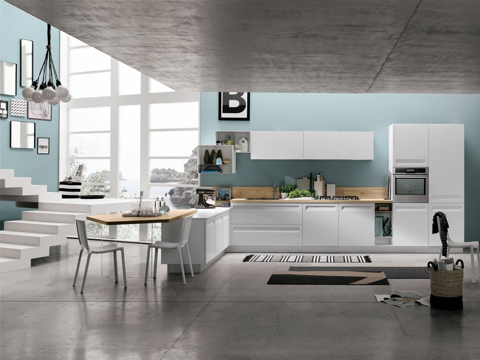 Cucine con il piano in laminato cose di casa - Laminato in cucina ...