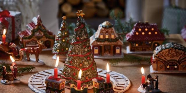 Alberi E Decorazioni Natalizie.Albero Di Natale E Decorazioni Crea Una Magica Atmosfera Cose Di Casa