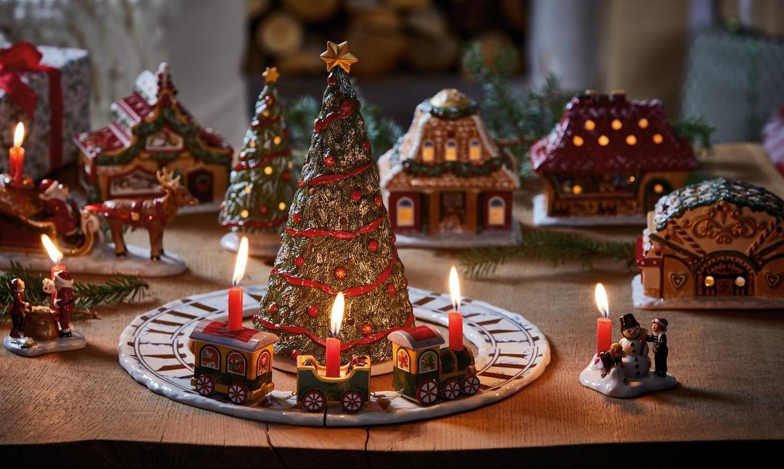 Addobbi Natalizi A 1 Euro.Albero Di Natale E Decorazioni Crea Una Magica Atmosfera Cose Di Casa
