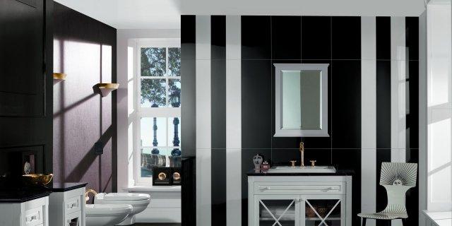 Bagno classico: lavabi, sanitari, mobili per 8 ambienti in stile