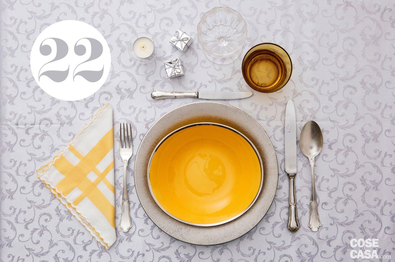 Aggiungi un posto a tavola 24 soluzioni per - Disposizione bicchieri a tavola ...