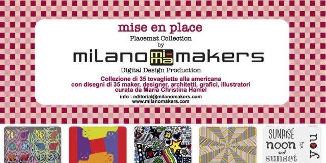 Tovagliette per la tavola easy: la collezione Mise en place by Milano Makers