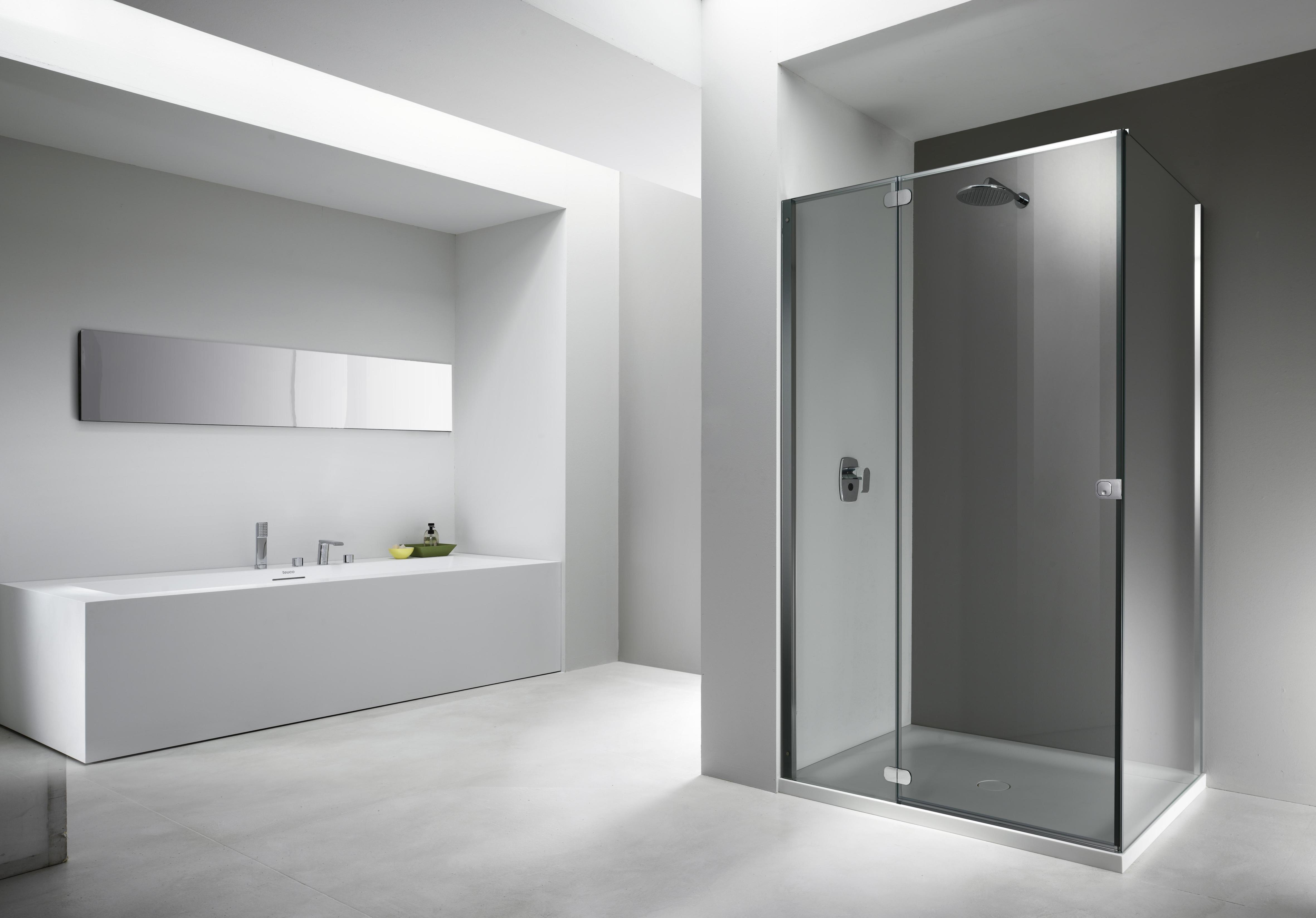 Cabine doccia senza telaio: i vantaggi del design minimal cose di casa